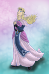 Zelda, the transcedental princess by Leo-Syron