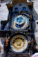 Astrological Clock. by johnwaymont
