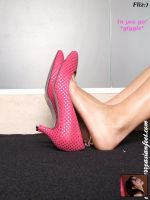 in her pink shoe by fliz01