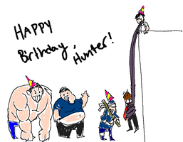L4D - Happy Birthday Hunter - by SuperKusoKao
