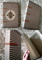 Victorian Striped Journal (Available on Etsy) by Nymla