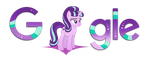 Starlight Glimmer Google Logo [Install guide] by xXMaxterXx