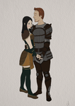 Alistair and Zuesypha by ALinder