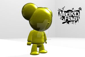 Golden Mouse by MadKIDFlava