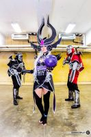 Syndra - League of Legends by Yukishir0