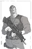 Punisher by CoranKizerStone