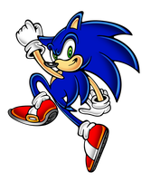 the third sonic is... by megax88