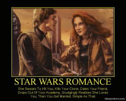 Star Wars Romance by katarnlunney