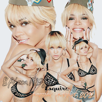 8 PNG's of Rihanna from Esquire Photoshoot, 2012 by RihannaWest