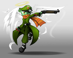 Angel With a Shotgun by BasilLoon