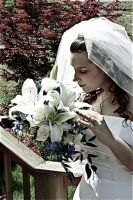 Engrossed in Her Bouquet by sxywoman
