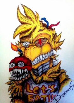 Nightmare Chica.  by Really-Bad
