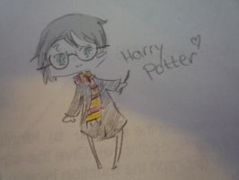 harry potter doodle by ShiggyStalker