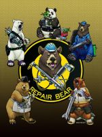 Star Citizen Parody Advertisement - Repair Bear by ghostfire
