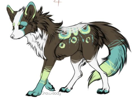 Another Wolf Adopt by Arokis666