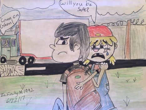 Lana is Scared of Glenn leaving  by InifinityM1992