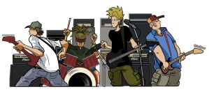 my old punk rock band by Tomster84
