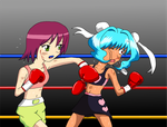 Request :Sonia vs Ming Ming by nakajimachie66