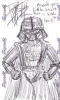 Vader Doodle by ifihadacoconut