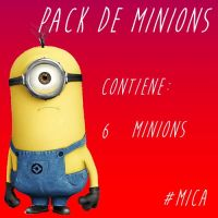 Pack de minions by Mica2009