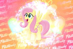 Pink Flutter - Thanks for 5 Years of support! by KibbieTheGreat