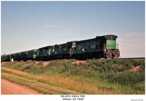 BN 4019, 5394 and 7093 by hunter1828