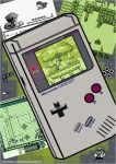 Game Boy Character Poster by JimmyPiranha