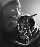 ANother zomb sketch by MrG00