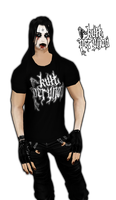 Kult Perunov Shirt by crowhitewolf