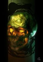 Blisterskull by MitchGrave