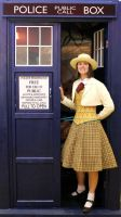 Fem!7th Doctor in the Tardis by WanderingWindward