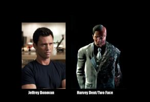 BATMAN Fan Cast - HarveyTwo Face V.1 by RobertTheComicWriter