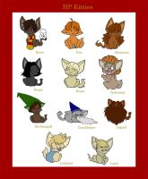 HP Kitties by adubioussoul