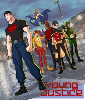 YOUNG JUSTICE: THE TEAM 2 by Jerome-K-Moore