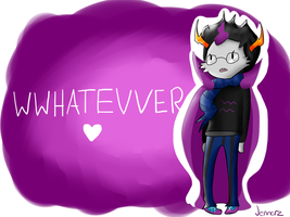 Eridan Ampora: WWHATEVVER by The-Bish-Of-Hyrule