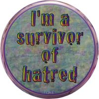 I'm a Survivor of Hatred by raven-haven-creation