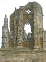 Whitby Abbey by hexelfglitter