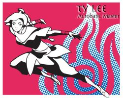 Pop art series: Ty Lee by ekormekolindo