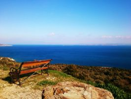 Sea view, Chios, Greece by Annie89D