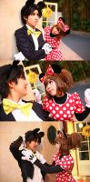 Meeting Point Mickey and Minnie by Maho-Urei