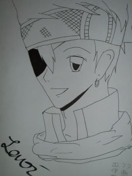 :DGM: Lavi -outlines- by darkdaylight