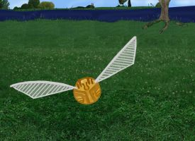 The Golden Snitch by InfractiAngelus