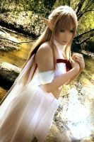 Sword Art Online Asuna (Queen) Cos - Real Fairy by K-I-M-I