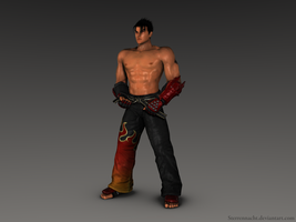 Jin Kazama by Sterrennacht