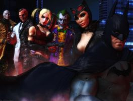 Batman Arkham city wallpaper by ethaclane