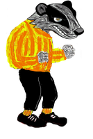 Rayzin The Badger 1 by Me2Smart4U