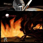 Sir Snippy fighting CancerDragon by Isreali-Freak-Devi