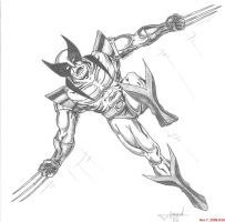 wolverine by inkinblood