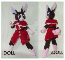 Mimi - Battlemage Bunny Doll by dot-DOLL