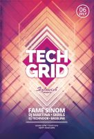 Tech Grid Flyer by styleWish
